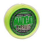 Леска плетеная MADCAT® 8-BRAID FLUORO GREEN 0.40 mm