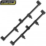 Комплект перекладин для 3 удилищ MAD BLACK ALUMINIUM Goal Post Buzzer Bar 3 Rod / 2 шт.