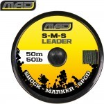 Шок лидер плетеный MAD S-M-S LEADER / 50lb / 50m / GREEN