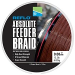 Леска плетеная Preston Innovations REFLO® ABSOLUTE FEEDER BRAID/ 0,08mm / 150m