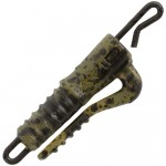 Клипса сo скобой и застежкой AVID CARP OUTLINE QC Lead Clip - CAMOU