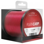 Леска моно FIN RUBIN CARP / 0,31mm / 18,5lb / 1200m - Fluo Red