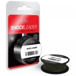 Снаг/Шок лидер плетеный FIN SHOCK LEADER / 0.30mm / 57lb / 20m - Green