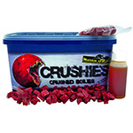 Бойлы тонущие дробленые Martin SB XTRA Crushies Garlic & Robin Red 3-18mm / 2,5 kg