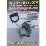 Набор для оснастки KORUM Ready Heli Kits - Quick Change Swivel - 5 шт.
